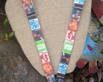 Unique One of a Kind Hall & Oates Lanyard Daryl Hall John Oates