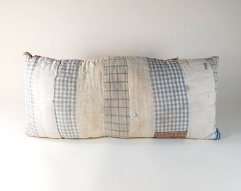 Quilted Civil War Fabric Pillow
