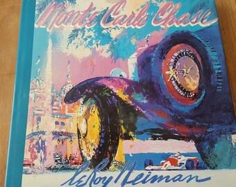 Monte Carlo Chase - LeRoy Neiman Hardcover (1988)