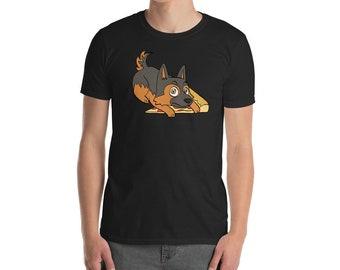Funny German Shepherd Shirt, Get Your Own Pizza T-Shirt, Cute German Shepherd Gifts