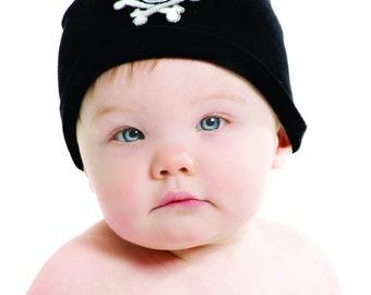 Boy Beanie - Skull Hat - Baby Beanie - Skull - Baby Boy - Skull Beanie - Newborn Beanie - Newborn Photo Prop - Skull Beanie - Skull Bones