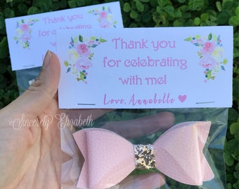 Bow Favors, Girly Party Favors