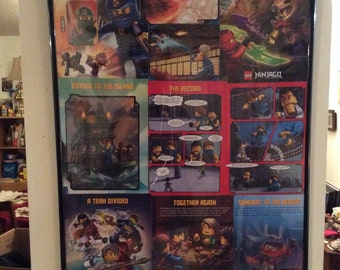 Thee lego collage.