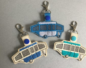 Camper Key Fob/Luggage Tag