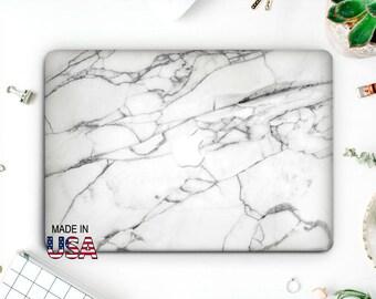White Marble Macbook Case Macbook Pro 13 Case Hard Laptop Cover Macbook Air 13 Case Macbook Air 11 Case Macbook 12 Case Coque Mac AMM2004