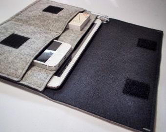 iPad Mini Sleeve - iPad Mini Case - iPad Mini Cover - Various Colours - 100% Wool Felt
