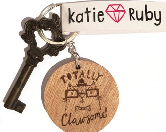 Totally Clawsome! Keyring