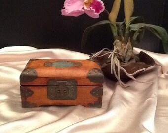 Vintage Chinese jewelry box.