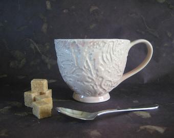 Porcelain Teacup in Pink