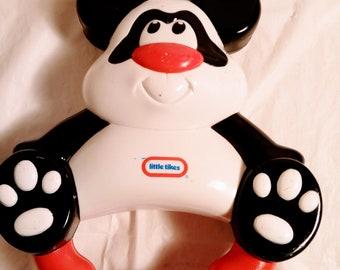 Little Tikes Panda Bear Rattle /Tambourine Baby's Toy