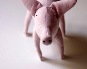 The pink piggy