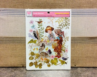 Vintage WHITMAN Twelve (12) Piece Cardboard Frame Tray PUZZLE