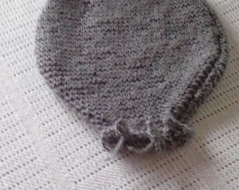 newborn romper hand knitted suitable for photo prop