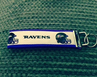 Baltimore Ravens Keychain