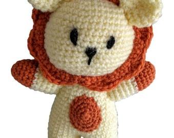 Leo the Lion - Crochet Pattern (PDF)