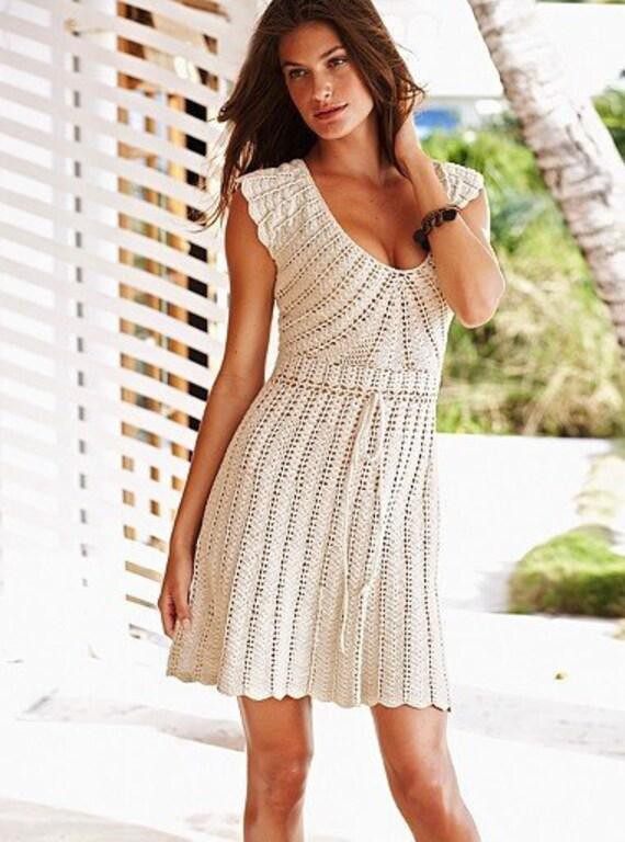 Victoria secret maxi dress crochet