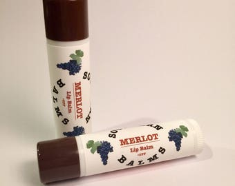 Merlot Lip Balm