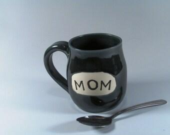 Ceramic Ceramic Coffee Mug, Coffee Cup, Mom Mug, Coffee Mug, Wheel Thrown Mug, Stoneware Mug, Mug, Handmade Mug, Ready to Ship, MP1