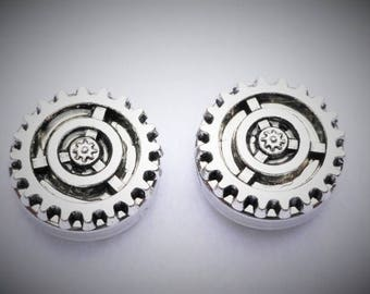 Steampunk Cuff Link   Button Cover
