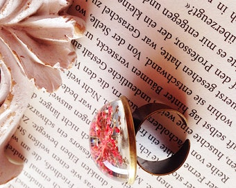 Dill blossoms bronze bracelet