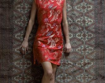Red Kimono.