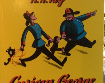 Curious George by H.A. Rey - 1969 Hardcover Edition (original c 1941)