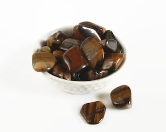Tiger Eye from South Africa · Crystals and Minerals · Tiger Eye · Solar Plexus