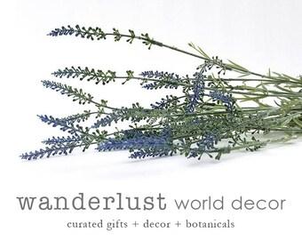 Lavender bunch, faux lavender, artificial lavender, purple flower, purple flowers, lavender bunches, french lavender, faux french lavender
