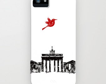 Brandenburg Gate from Berlin City  on Phone Case -  iphone cases , Samsung Galaxy , iPhone 6S, iPhone 6 Plus, iPhone 8
