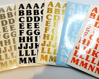 15 mm Letters and Numbers* Self Adhesive * Peel & Stick*Signs*Crafts*