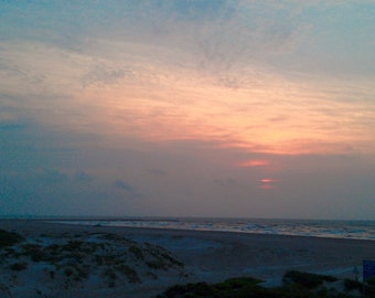 Sunrise on the Gulf Coast
