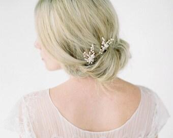 LAURA | bridal hair pieces, wedding hair pins, bridal hair pins