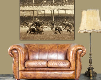New York Polo Grounds Football, Army vs. Navy - New York Art, New York Canvas Art, Navy, New York Wall art, Vintage canvas, mancave poster