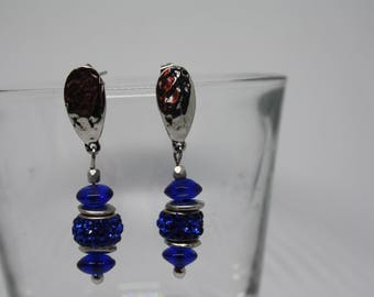 Blue Bright Earrings