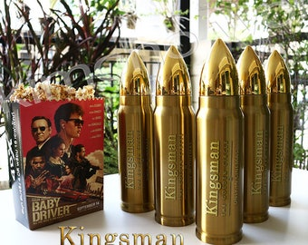 Five Bottles Licensed KingsMan II THE GOLDEN Tie in New Out Of Print A1