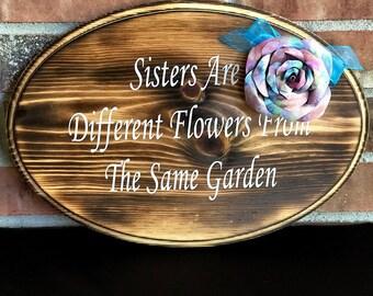Sister Flower Garden Board