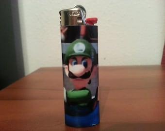 Mean muggin' Luigi