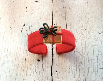 Christmas Adjustable Cuff Bracelet