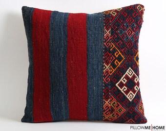 kilim pillow, pillowcases, 20x20 throw pillow, decorative pillow, pillow, accent pillow, bohemian pillow, embroidered pillow