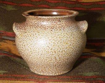 Earth toned Kovack Esk  Seagrove NC Pottery circa 2004 wood fired salt glaze signed and dated... lovely piece of North Carolina pottery & Salt glazed pottery | Etsy