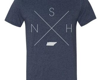 Tennessee Home T-Shirt – Nashville Shirt, NSH Shirt