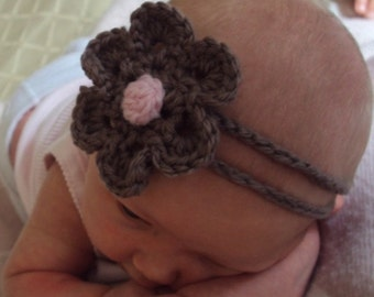 Download Now - CROCHET PATTERN Cuteness Headband - Baby to Adult - Pattern PDF