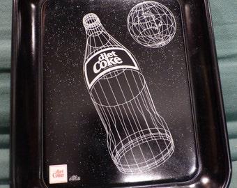 Vintage 1985 Coca Cola Coke tray - Diet Coke launch