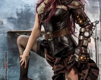 Rin's steampunk armor