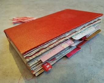 OOAK Junk Journal WP13 junqjournal notebook