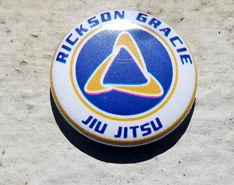 Gracie Jiu Jitsu 1 Inch Button