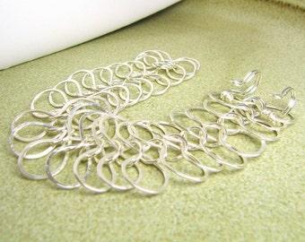 Mermaid's Tail Silver bracelet