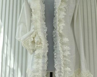 Cardigan Boho bohemian shabby romantic summer jacket