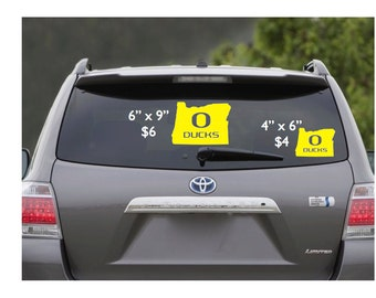 University of Oregon Ducks Decal