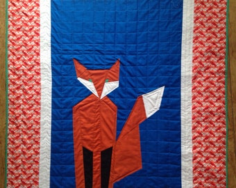 Childs quilt , fix quilt, animal quilt